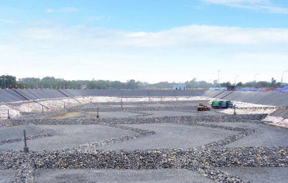 Dự án xây dựng ô chôn lấp rác thải công nghệ bán hiếu khí công nghệ FUKUOKA – Khu xử lý chất thải rắn Xuân Sơn.
