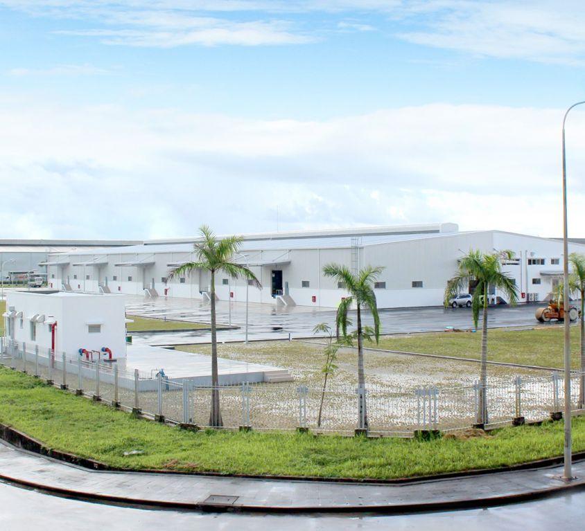 Dự án xây dựng nhà xưởng Công ty TOHOKU PIONEER VIỆT NAM, khu công nghiệp NOMURA, huyện An Dương, Thành phố Hải Phòng.
