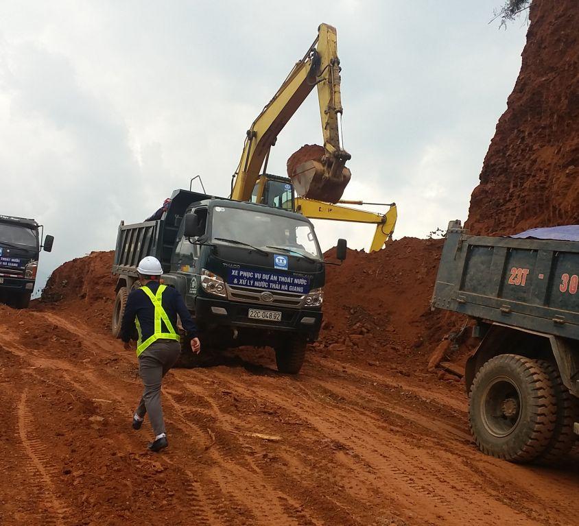 Dự án thoát nước và xử lý nước thải thành phố Hà Giang, tỉnh Hà Giang.