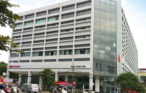 Dự án Nhà để xe cao tầng và văn phòng điều hành tại 315 Trường Chinh – Hà Nội. – EN