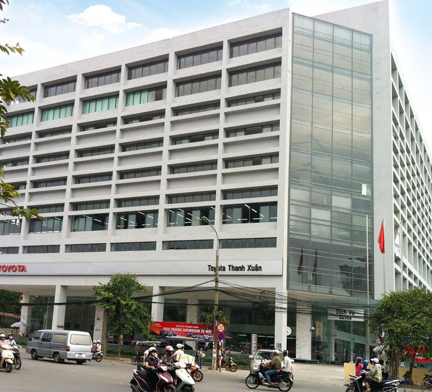 Dự án Nhà để xe cao tầng và văn phòng điều hành tại 315 Trường Chinh – Hà Nội.