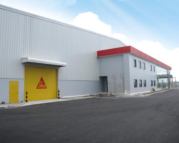 Dự án xây dựng Nhà máy SIKA Việt Nam.