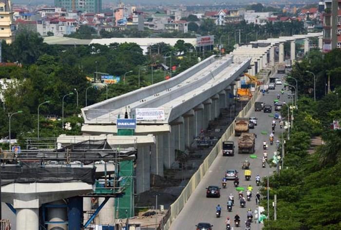 Dự án xây dựng tuyến đường sắt đô thị thí điểm TP.Hà Nội, đoạn Nhổn-ga Hà Nội